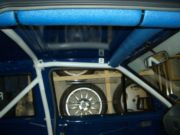 Roll cage fitted and protected